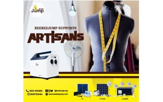 BEEBEEJUMP SOLAR HELPS FASHION DESIGNER EARN MORE PROFI
