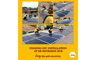 EPC solar installation at Abeokuta